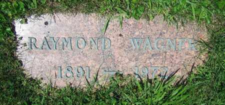 WAGNER, RAYMOND - Clark County, Ohio | RAYMOND WAGNER - Ohio Gravestone Photos