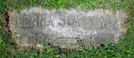 SLACK WALL, GLENNA - Clark County, Ohio | GLENNA SLACK WALL - Ohio Gravestone Photos
