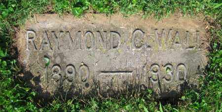 WALL, RAYMOND C. - Clark County, Ohio | RAYMOND C. WALL - Ohio Gravestone Photos