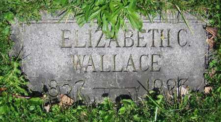 WALLACE, ELIZABETH C. - Clark County, Ohio | ELIZABETH C. WALLACE - Ohio Gravestone Photos