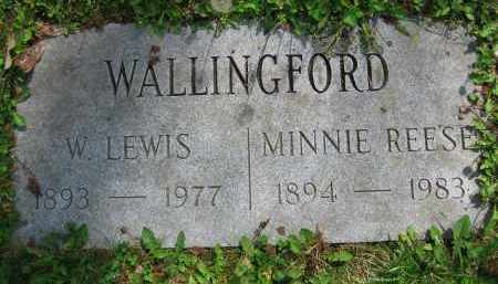 REESE WALLINGFORD, MINNIE - Clark County, Ohio | MINNIE REESE WALLINGFORD - Ohio Gravestone Photos