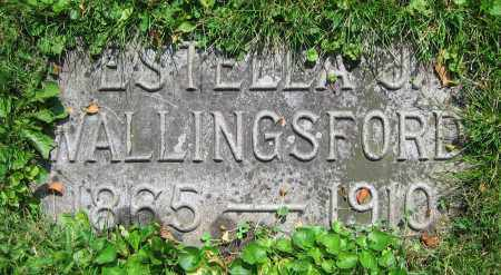 WALLINGSFORD, ESTELLA J. - Clark County, Ohio | ESTELLA J. WALLINGSFORD - Ohio Gravestone Photos