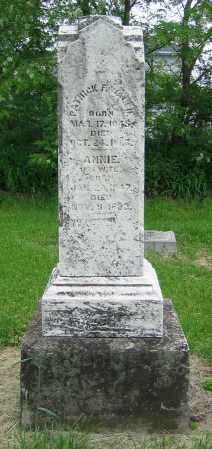 WALSH, ANNIE - Clark County, Ohio | ANNIE WALSH - Ohio Gravestone Photos