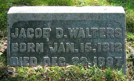 WALTERS, JACOB D. - Clark County, Ohio | JACOB D. WALTERS - Ohio Gravestone Photos