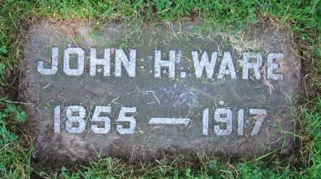 WARE, JOHN H. - Clark County, Ohio | JOHN H. WARE - Ohio Gravestone Photos