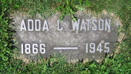 WATSON, ADDA C. - Clark County, Ohio | ADDA C. WATSON - Ohio Gravestone Photos
