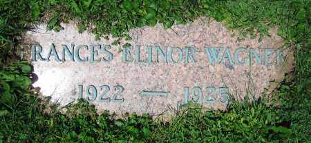 WATSON, FRANCES ELINOR - Clark County, Ohio | FRANCES ELINOR WATSON - Ohio Gravestone Photos