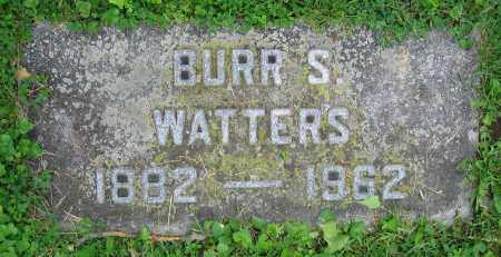 WATTERS, BURR S. - Clark County, Ohio | BURR S. WATTERS - Ohio Gravestone Photos