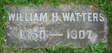 WATTERS, WILLIAM H. - Clark County, Ohio | WILLIAM H. WATTERS - Ohio Gravestone Photos