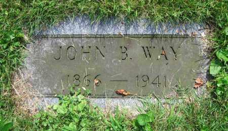 WAY, JOHN B. - Clark County, Ohio | JOHN B. WAY - Ohio Gravestone Photos