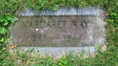 WAY, MARGARET - Clark County, Ohio | MARGARET WAY - Ohio Gravestone Photos