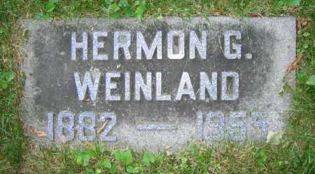 WEINLAND, HERMON G. - Clark County, Ohio | HERMON G. WEINLAND - Ohio Gravestone Photos