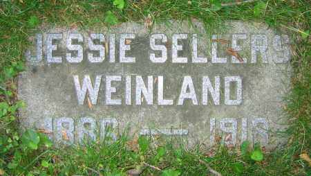 SELLERS WEINLAND, JESSIE - Clark County, Ohio | JESSIE SELLERS WEINLAND - Ohio Gravestone Photos