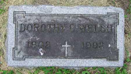WELSH, DOROTHY C. - Clark County, Ohio | DOROTHY C. WELSH - Ohio Gravestone Photos
