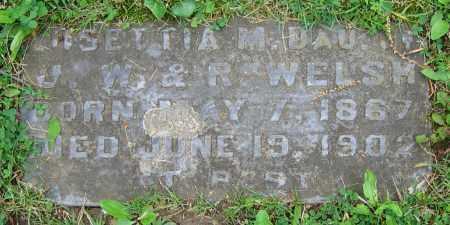 WELSH, LUSETTIA M. - Clark County, Ohio | LUSETTIA M. WELSH - Ohio Gravestone Photos