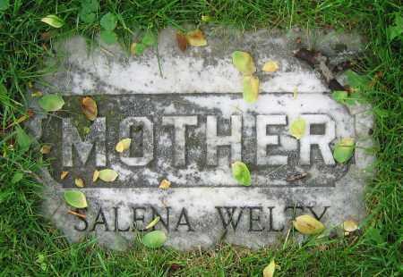 WELTY, SALENA - Clark County, Ohio | SALENA WELTY - Ohio Gravestone Photos