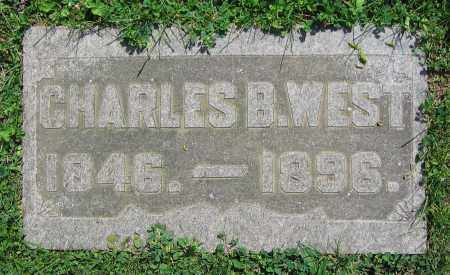 WEST, CHARLES B. - Clark County, Ohio | CHARLES B. WEST - Ohio Gravestone Photos