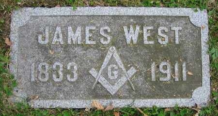 WEST, JAMES - Clark County, Ohio | JAMES WEST - Ohio Gravestone Photos