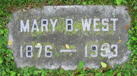 WEST, MARY B. - Clark County, Ohio | MARY B. WEST - Ohio Gravestone Photos