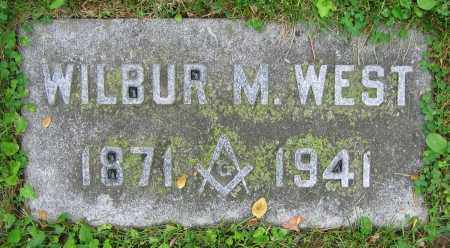 WEST, WILBUR M. - Clark County, Ohio | WILBUR M. WEST - Ohio Gravestone Photos