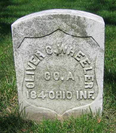 WHEELER, OLIVER C. - Clark County, Ohio | OLIVER C. WHEELER - Ohio Gravestone Photos