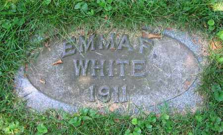 WHITE, EMMA F. - Clark County, Ohio | EMMA F. WHITE - Ohio Gravestone Photos