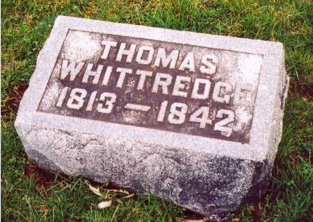 WHITTREDGE, THOMAS - Clark County, Ohio | THOMAS WHITTREDGE - Ohio Gravestone Photos