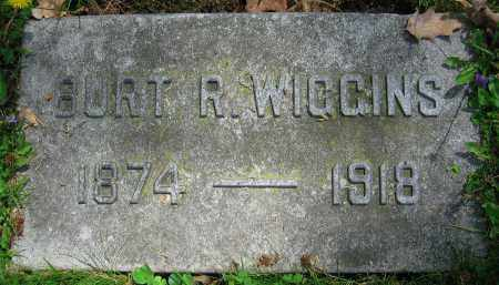 WIGGINS, BURT R. - Clark County, Ohio | BURT R. WIGGINS - Ohio Gravestone Photos