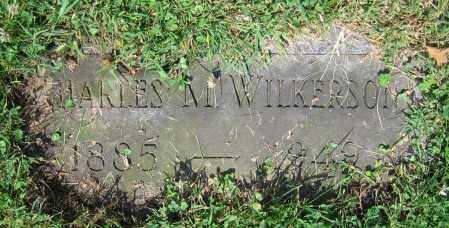 WILKERSON, CHARLES M. - Clark County, Ohio   CHARLES M. WILKERSON - Ohio Gravestone Photos