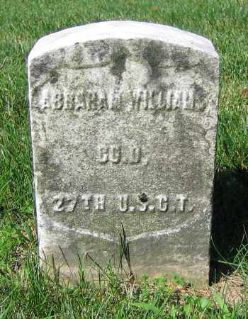 WILLIAMS, ABRAHAM - Clark County, Ohio | ABRAHAM WILLIAMS - Ohio Gravestone Photos