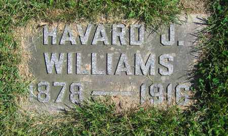 WILLIAMS, HAVARD J. - Clark County, Ohio | HAVARD J. WILLIAMS - Ohio Gravestone Photos