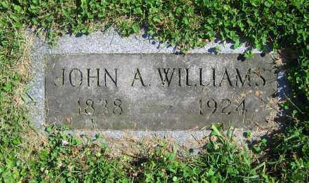 WILLIAMS, JOHN A. - Clark County, Ohio | JOHN A. WILLIAMS - Ohio Gravestone Photos