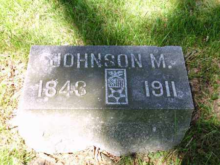 WILSON, JOHNSON M. - Clark County, Ohio | JOHNSON M. WILSON - Ohio Gravestone Photos