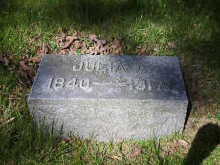 WILSON, JULIA A. - Clark County, Ohio | JULIA A. WILSON - Ohio Gravestone Photos