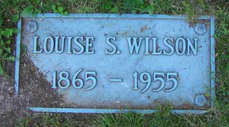 WILSON, LOUISE S. - Clark County, Ohio | LOUISE S. WILSON - Ohio Gravestone Photos