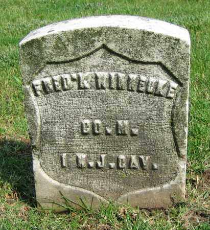 WINNECKE, FRED'K - Clark County, Ohio | FRED'K WINNECKE - Ohio Gravestone Photos