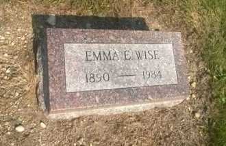 TRUESDALE WISE, EMMA E. - Clark County, Ohio | EMMA E. TRUESDALE WISE - Ohio Gravestone Photos