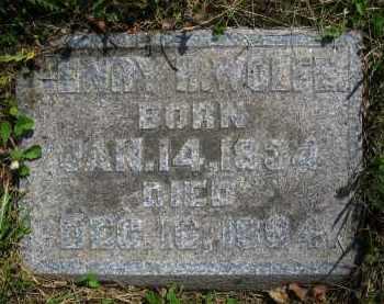WOLFE, HENRY H. - Clark County, Ohio | HENRY H. WOLFE - Ohio Gravestone Photos