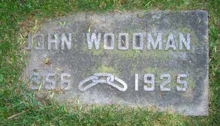 WOODMAN, JOHN - Clark County, Ohio | JOHN WOODMAN - Ohio Gravestone Photos