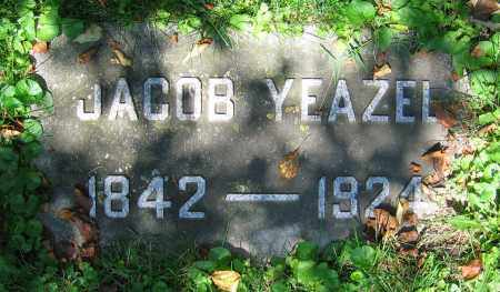YEAZEL, JACOB - Clark County, Ohio | JACOB YEAZEL - Ohio Gravestone Photos