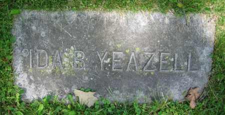 YEAZELL, IDA B. - Clark County, Ohio   IDA B. YEAZELL - Ohio Gravestone Photos