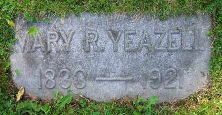 YEAZELL, MARY R. - Clark County, Ohio | MARY R. YEAZELL - Ohio Gravestone Photos