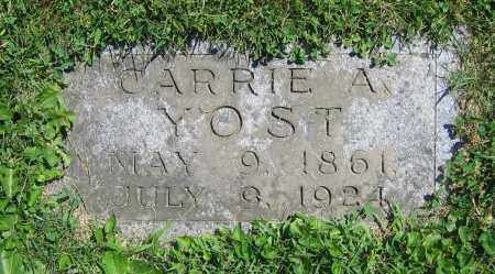 YOST, CARRIE A. - Clark County, Ohio | CARRIE A. YOST - Ohio Gravestone Photos