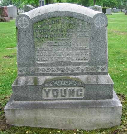 YOUNG, JACOB - Clark County, Ohio | JACOB YOUNG - Ohio Gravestone Photos