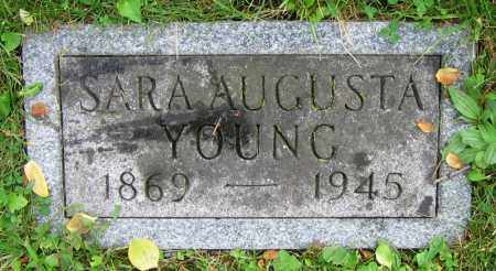 YOUNG, SARA AUGUSTA - Clark County, Ohio | SARA AUGUSTA YOUNG - Ohio Gravestone Photos