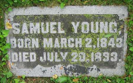 YOUNG, SAMUEL - Clark County, Ohio | SAMUEL YOUNG - Ohio Gravestone Photos