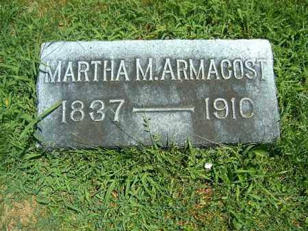ARMACOST, MARTHA  M - Clermont County, Ohio | MARTHA  M ARMACOST - Ohio Gravestone Photos