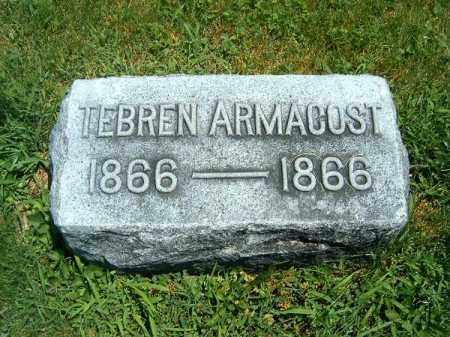 ARMACOST, TEBREN - Clermont County, Ohio | TEBREN ARMACOST - Ohio Gravestone Photos