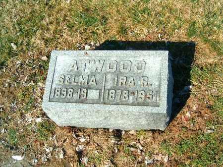 ATWOOD, IRA  R - Clermont County, Ohio | IRA  R ATWOOD - Ohio Gravestone Photos