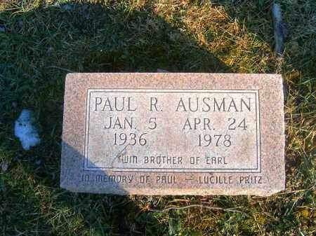 AUMAN, PAUL   R - Clermont County, Ohio | PAUL   R AUMAN - Ohio Gravestone Photos